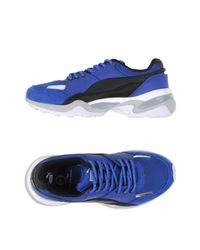 Alexander McQueen X Puma Blue Low-tops & Sneakers