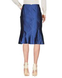 Clips Blue 3/4 Length Skirt