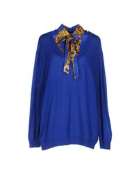Boutique Moschino - Blue Sweater - Lyst