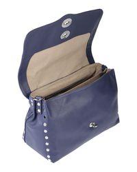 Bolso de mano Zanellato de color Blue