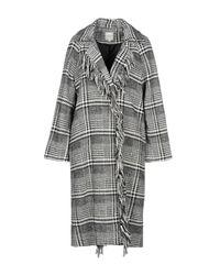 Silvian Heach Black Coat
