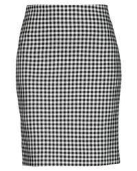 Momoní Black Knee Length Skirt