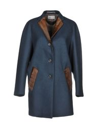 Cappotto di Kolor in Blue