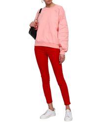 7 For All Mankind Pink Sweatshirt