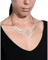 8 - Metallic Necklaces - Lyst