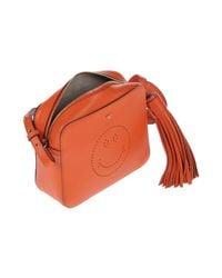 Sacs Bandoulière Anya Hindmarch en coloris Orange