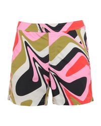 Short de bain Tom Ford pour homme en coloris Pink