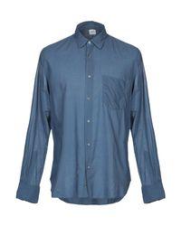 Camicia di Aspesi in Blue da Uomo