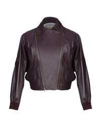 Band of Outsiders Purple Jacket for men