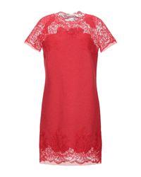 Robe courte Ermanno Scervino en coloris Red