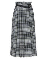 Golden Goose Deluxe Brand Gray 3/4 Length Skirt