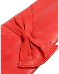 Jolie By Edward Spiers - Red Gloves - Lyst