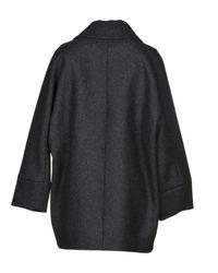 Manteau long DSquared² en coloris Black