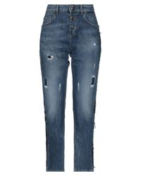 Liu Jo Blue Denim Trousers