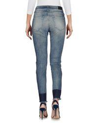 Jijil Blue Denim Pants