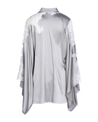Agent Provocateur Gray Robe