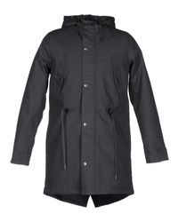 Manteau long Rvlt pour homme en coloris Gray