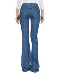 Seafarer Blue Denim Pants