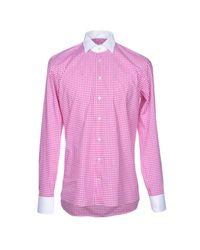 Etro - Purple Shirt for Men - Lyst