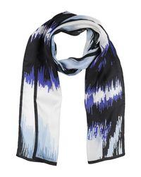 Longchamp Blue Scarf