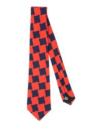 Mp Massimo Piombo - Red Tie for Men - Lyst