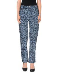 Étoile Isabel Marant Blue Denim Pants
