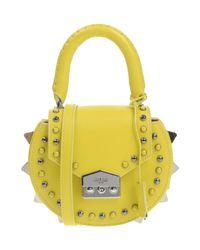 Salar Yellow Handbag