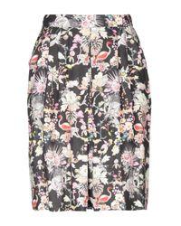 Leitmotiv Black Knee Length Skirt