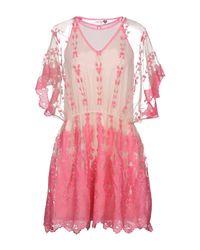 Twin Set Pink Short Dress