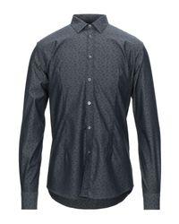 Grey Daniele Alessandrini Gray Shirt for men