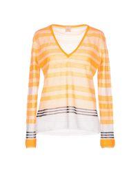 Pullover Pinko de color Orange