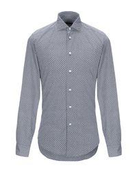 Camicia di Brian Dales in Blue da Uomo