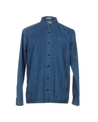 Hilfiger Denim - Blue Denim Shirt for Men - Lyst