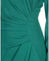 Lanvin Green Long Dress