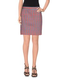 Marc By Marc Jacobs Multicolor Denim Skirt
