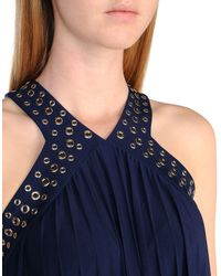MICHAEL Michael Kors Blue Long Dress