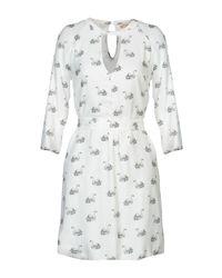 Met White Short Dress
