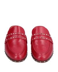 Mules & Sabots Valentino Garavani en coloris Red