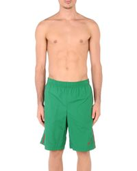 Nike Green Swim Trunks for men
