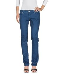 Pinko Blue Denim Trousers