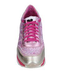 Twin Set Purple Low-tops & Sneakers