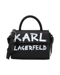 Karl Lagerfeld Black Handtaschen