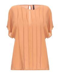 Blouse Manila Grace en coloris Orange