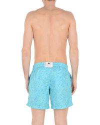 Short de bain Macchia J pour homme en coloris Blue