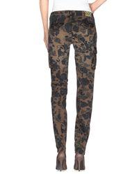 AT.P.CO Brown Casual Pants