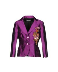 Clips Purple Blazer