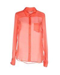 Equipment - Pink Shirts - Lyst