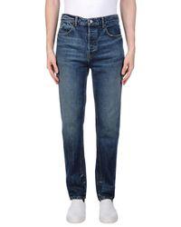 Alexander Wang Blue Denim Pants for men