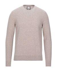 Pal Zileri Gray Sweater for men