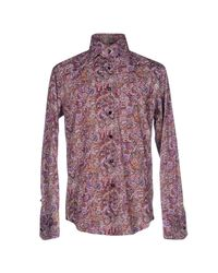 Billionaire - Purple Shirt for Men - Lyst